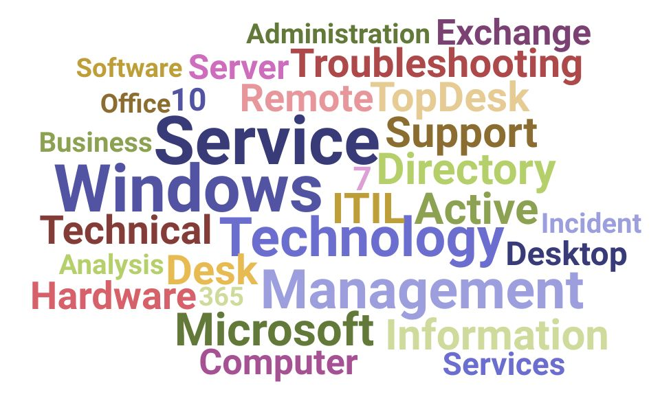 Top Information Technology Services Specialist Skills and Keywords to Include On Your Resume