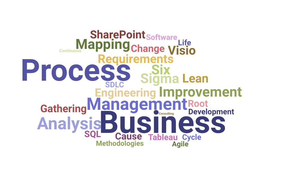 Top Business Process Engineer Skills and Keywords to Include On Your Resume