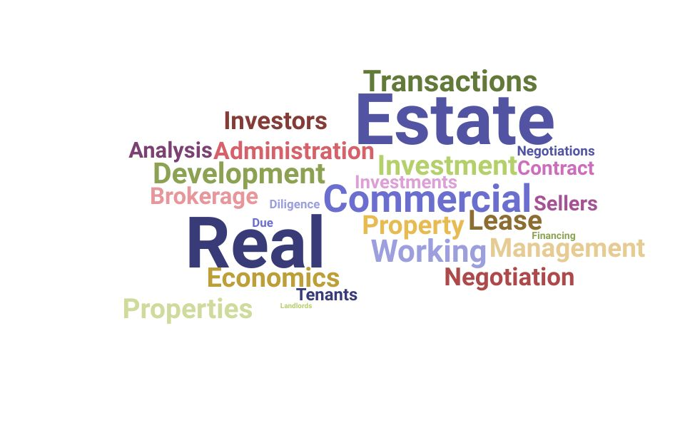 Top Commercial Real Estate Specialist Skills and Keywords to Include On Your Resume