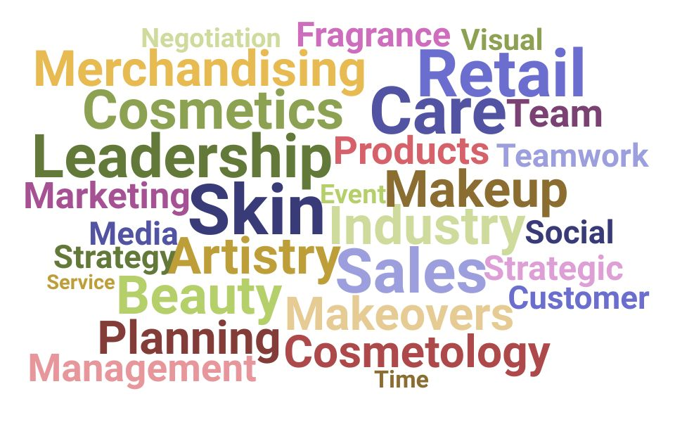 Top Beauty Advisor Skills and Keywords to Include On Your Resume