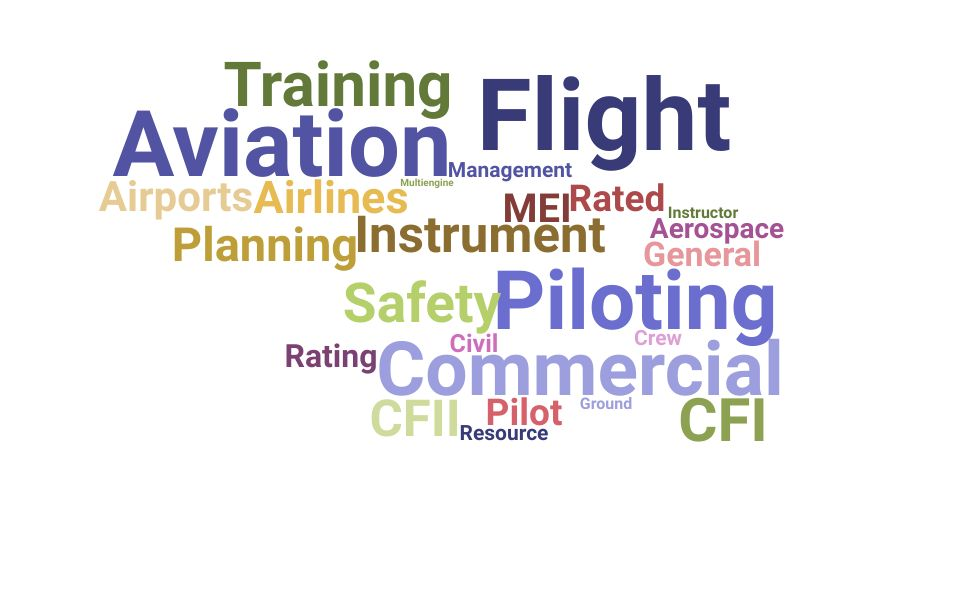Top Flight Instructor Skills and Keywords to Include On Your Resume