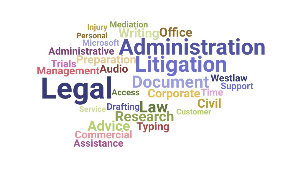 Top Legal Administrator Skills and Keywords to Include On Your Resume
