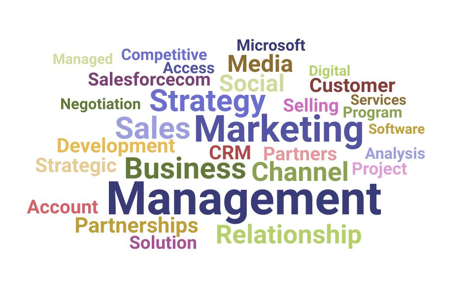 Top Partnerships Manager Skills and Keywords to Include On Your Resume