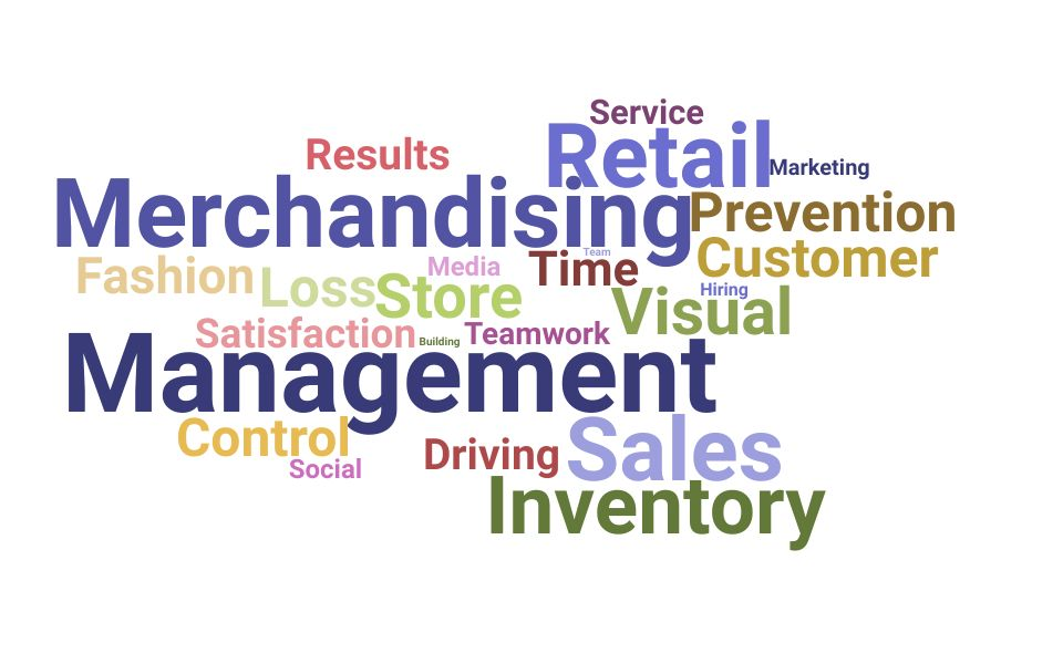 Top Retail Management Specialist Skills and Keywords to Include On Your Resume