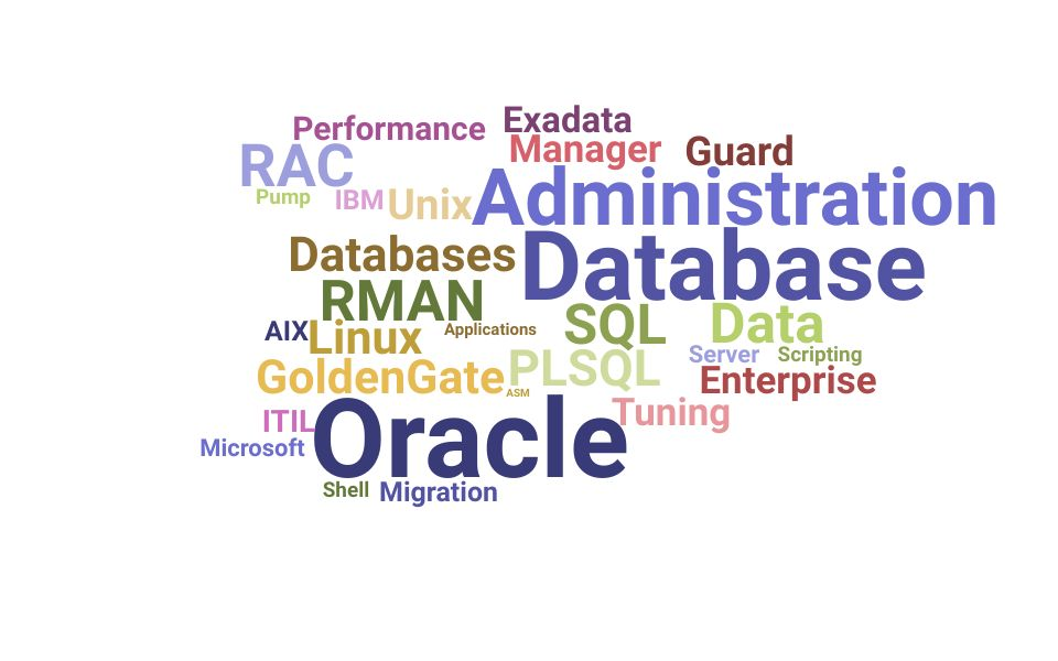 Top Oracle Database Administrator Skills and Keywords to Include On Your Resume