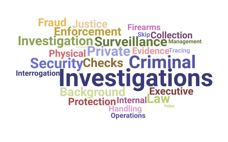 Top Private Investigator Skills and Keywords to Include On Your Resume