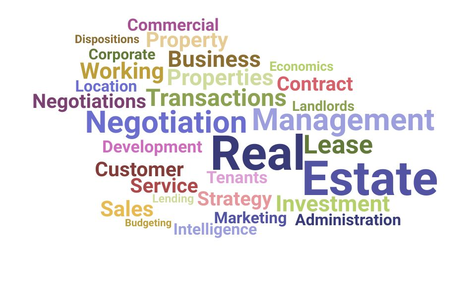 Top Real Estate Manager Skills and Keywords to Include On Your Resume