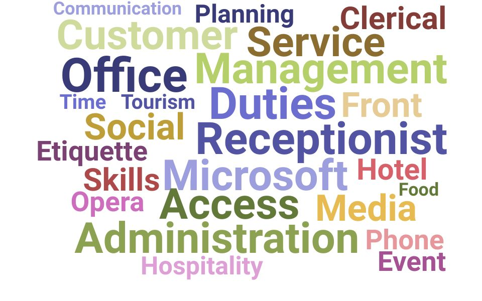 Top Receptionist Skills and Keywords to Include On Your Resume