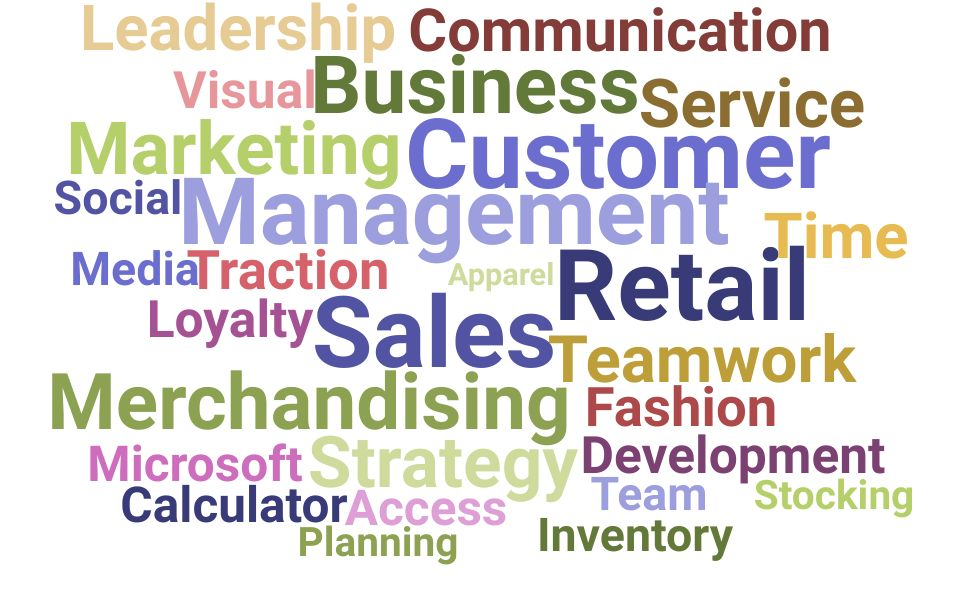 Top Retail Specialist Skills and Keywords to Include On Your Resume