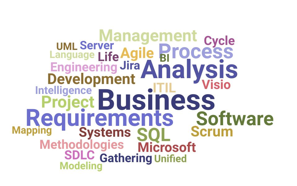 Top Information Technology Business Analyst Skills and Keywords to Include On Your Resume