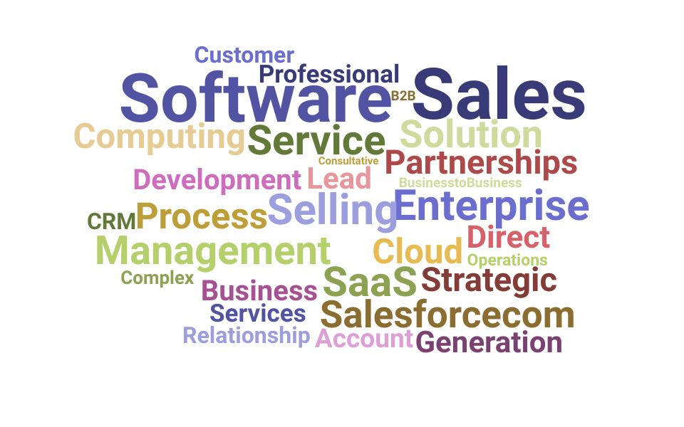 Top Enterprise Sales Skills and Keywords to Include On Your Resume