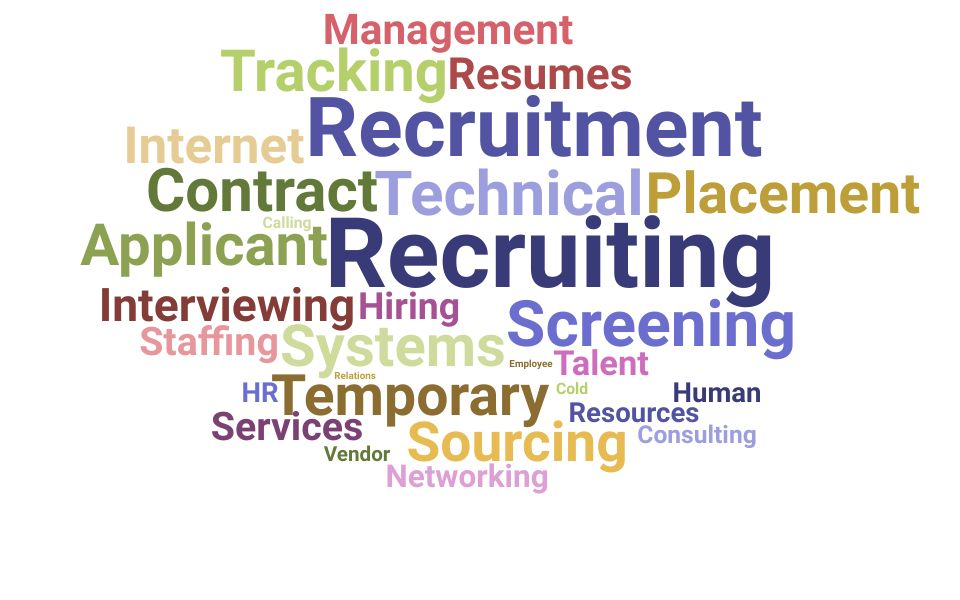 Top Technical Recruiting Manager Skills and Keywords to Include On Your Resume
