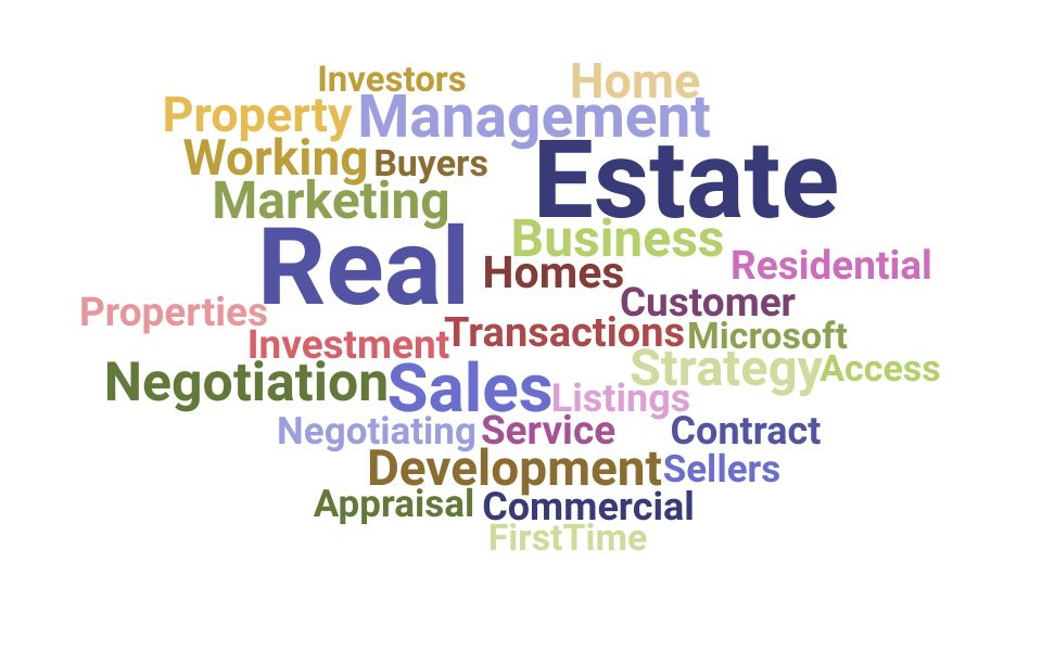 Top Real Estate Skills and Keywords to Include On Your Resume